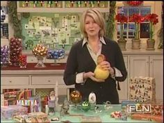 Martha content from years. Martha Stewart Recipes, Martha Stewart Crafts, Christmas And New Year, Christmas Fun, Nancy Fuller, Summer Youtube, Whats Gaby Cooking, Xmas Ornaments, American Made
