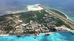 7/24/17 China builds cinema on disputed island in South China Sea  Movie theatre set up on Woody Island in the Paracel chain, which is also claimed by Taiwan and Vietnam