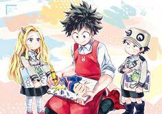 Boku no Hero Academia || Eri, Midoriya Izuku, Kouta Izumi.