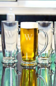 Personalized Craft Beer Mugs (Set of 4)  http://rstyle.me/n/dk2mqpdpe