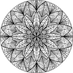 Coloring-pages-adult-mandala-579 | Free Coloring Pages For Kids