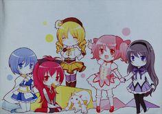 Soft Premium Quality Custom Puella Magi Madoka Magica Anime Manga Cosplay T-Shirt Tee Tshirt