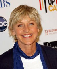 """Ellen DeGeneres  (Jan. 26, 1958 - )  In 1997 her character Ellen Morgan came out as a lesbian on the TV show """"Ellen"""", making her the first openly lesbian actress to play an openly lesbian character on television. In 2007 she became the first open lesbian to host the Academy Awards."""