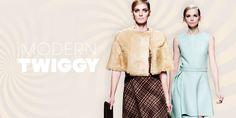 So sieht der moderne Twiggy Look aus! #look #fashion #twiggy