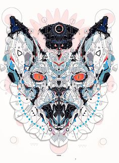 Meerkat police animal shapes art yo az