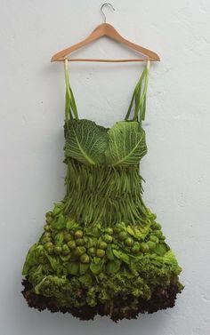 Sarah Illenberger's vegetable dress at highlike.org
