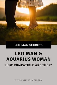While the Leo man is filled with fire, Aquarius woman is a air sign. These two make a hot match with lots of possibility and passion. They have plenty in common and would make a fantastic match up should they try to get a relationship started. Keep reading and find out what Leo man and Aquarius woman compatibility score is. #zodiac #sign #horoscope #horoscope_sign #astrology #love #relationship #dating #leo #leo_man #traits #dating_leo #aquarius #woman #aquarius_woman #compatibility #in_bed