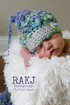 Kristi Simpson Designs: Pastel Pixie Hat Photo Prop Free Crochet Pattern
