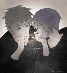 KiyoHana's cigar kiss =3=