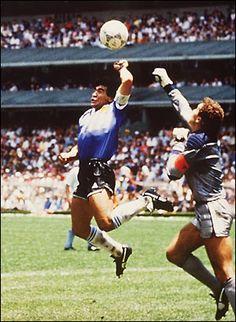 Goal God Hand, Diego Maradona
