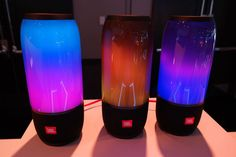JBL's Pulse 3 speaker is fully waterproof, which means it can put on a light show underwater.