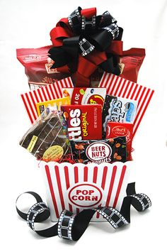Great gift basket ideas for men.  These would work for Easter, Father's Day, birthdays and more!