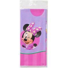 "Plastic Table Cover, 54"" x 96"", Minnie Mouse - Walmart.com"