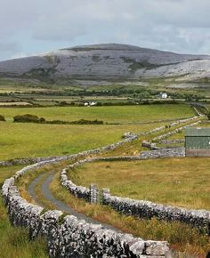The Burren, Co. Clare - geologically, The Aran Islands used to be attached to the Burren. Amazing, amazing place