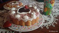 Le blog de Cata: Charlotte aux fraises pour la St Valentin
