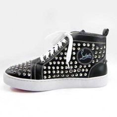 :: Christian Louboutin Men Shoes Black ::