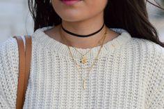 blog mode bijoux ras de cou noir tendance 2016
