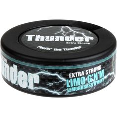 Limited Edition Thunder Limo G'N'M comes with a new flavor combination of lemongrass and mint - and will only be available for a limited period! New Flavour, Limo, Lemon Grass, Thunder, Period, Strong, Lemon Balm, Citronella