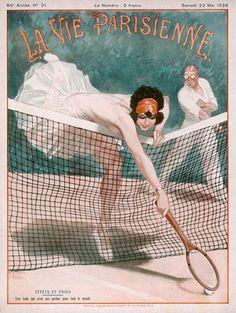 La Vie Parisienne Art Deco Print 1926.