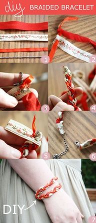 DIY bracelet  #diy #craft #bracelet #howto #jewelry