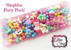 Shopkins Bracelet Kit Party Favor Set of 8 DIY KITS Birthday