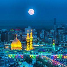 یا اباالفضل✨ Karbala Iraq, Imam Hussain Karbala, Islamic Images, Islamic Pictures, Karbala Pictures, Imam Hussain Wallpapers, Karbala Photography, Arabian Art, Prayer For The Day
