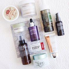 10-Step Korean Skincare Routine Set (Combination Skin Type)