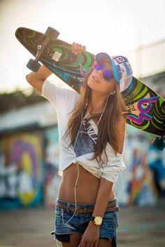 I like her.