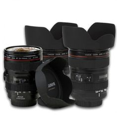 I need these!  Canon coffee mugs <3