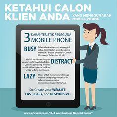 3 Karakteristik Pengguna Mobile Phone
