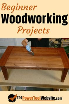 Beginner woodworking projects with detailed guides and pictures. Find your next .- Beginner woodworking projects with detailed guides and pictures. Find your next wood project idea here. Woodworking Toys, Beginner Woodworking Projects, Woodworking Furniture, Unique Woodworking, Wood Furniture, Building Furniture, Woodworking Skills, Popular Woodworking, Wooden Plane
