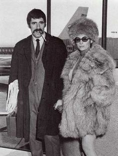 Nothing about this isn't fab. Barbra Streisand and Elliot Gould