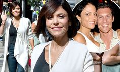 Bethenny Frankel looks carefree while on mommy duty