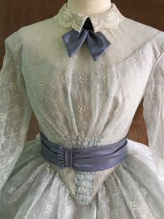 Organza Dress, Silk Organza, Tulle, Victorian Gown, Victorian Costume, Modern Victorian Fashion, Vintage Dresses, Vintage Outfits, Vintage Clothing