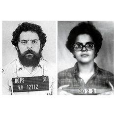 #DilmaRousseff y #LuladaSilva detenidos en 1970 detenidos por el régimen militar de #Brasil y acusados de #Comunistas #Guerrilleros y #Terroristas. Ambos fueron torturados, violados y sentenciados por pensar diferentes, hoy la vida les hace justicia y vuelven a ganar la presidencia de #Brasil.. Viva la #PatriaGrande #LatinoamericanaUnidad #Socialismo y #Revolución- http://www.pixable.com/share/5Wdoq/?tracksrc=SHPNAND2&utm_medium=viral&utm_source=pinterest