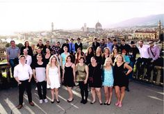 피렌체에서의 단체사진