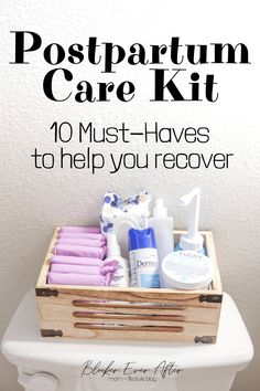 Postpartum Care Kit: Everything You'll Need – Blocker Ever After Recovering after childbirth. Here's a list of supplies you'll need in your Postpartum Care Kit to make your recovery as smooth as possible. Pregnancy Care, After Pregnancy, Post Pregnancy, Pregnancy Checklist, Pregnancy Belly, New Baby Checklist, Pregnancy Hospital Bag, Pregnancy Dress, Pregnancy Pillow