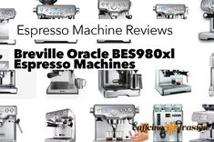 Breville Oracle BES980xl Espresso Machine Review Breville makes an excellent espresso machine that you can buy for your home or office. Here is the Breville Oracle BES980xl espresso machine & the most popular & best selling Breville Oracle BES980xl espresso machine accessories that you can buy. The info is via the Amazon API and shows you what people are buying to fulfill their espresso addiction with the Breville Oracle BES980xl…