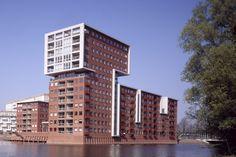 'Het Waterfort' woontoren Amsterdam