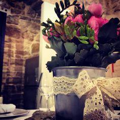 #Country #Chic #Wedding #Centerpiece #Masseria # Amore #Sposa #Sangallo #Latta #Pietra #Trattidamore #Icoloridellavita #Puglia #Italy