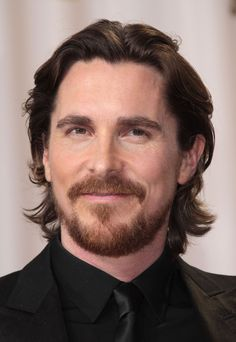 Christian Bale, British Actors, American Actors, Old Faces, The Bale, Fantasy Male, Famous Men, Hair And Beard Styles, Michael Fassbender