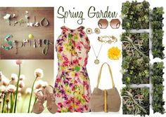 """""""Spring Garden"""" by angelysty on Polyvore"""