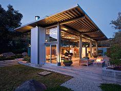 #Wohntrends #Villa aus #Glas und #Stahl