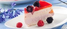 Vanille-yoghurttaart Met Frambozen recept | Smulweb.nl