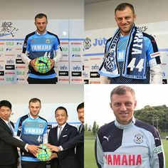 Welcome to Jubilo Iwata A.Papadopoulos!!! (Former Olympiacos play in World Cup) #jubilo #iwata #jubiloiwata #jleague #japan #football #soccer  #ジュビロ磐田 #ジュビロ #日本 #サッカー #Jリーグ by sport_is_good_1