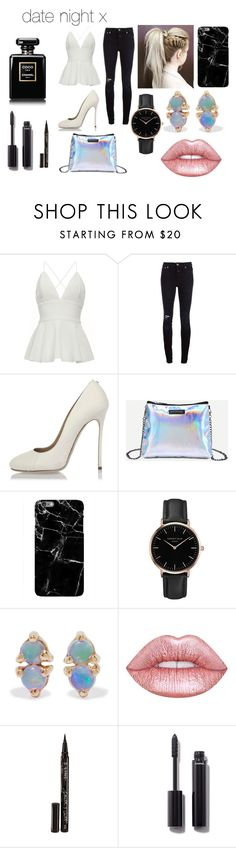 """""""date night 2 x"""" by immig2003 on Polyvore featuring Closed, Dsquared2, Topshop, WWAKE, Lime Crime, Smith & Cult and Chanel"""