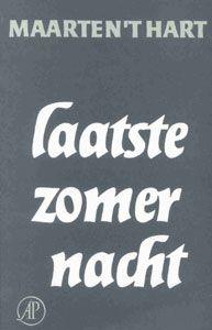 Laatste zomernacht, nieuwjaarsgeschenk 1978 van uitgeverij de Arbeiderspers.