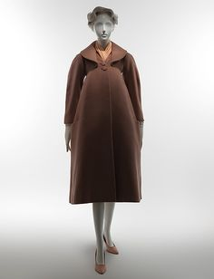 """Gothic"" coat - brown (image 1) 
