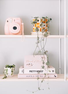 Feeling A Little Lost & Seriously Uninspired — From Roses - Shelf decor bedroom -Let's Talk: Feeling A Little Lost & Seriously Uninspired — From Roses - Shelf decor bedroom - elegant diy home decor ideas tips to have it Cute Room Ideas, Cute Room Decor, My New Room, My Room, Room Ideas Bedroom, Bedroom Decor, Aesthetic Room Decor, Diy Décoration, Handmade Home