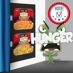 Which Chow Mein candidate would you vote for?